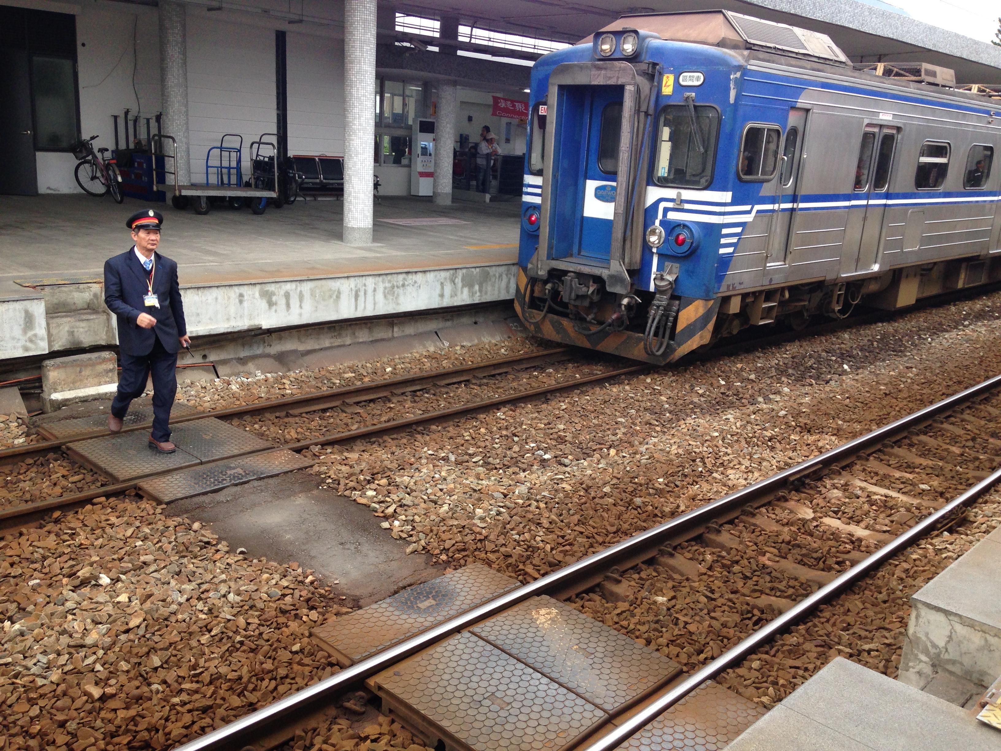 8大彎の電車